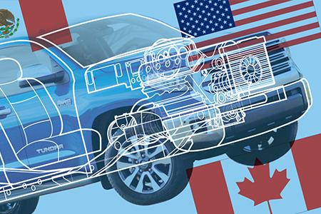 自動車業に対するCFRT