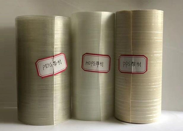 多種の樹脂を含むCFRT UD テープ